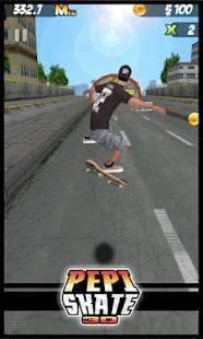 Androidアプリ「PEPI Skate 3D」のスクリーンショット 1枚目