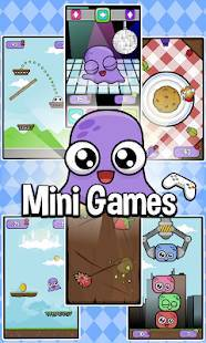 Androidアプリ「Moy 2 🐙 Virtual Pet Game」のスクリーンショット 4枚目