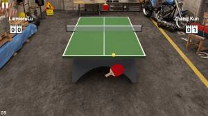 Androidアプリ「Virtual Table Tennis」のスクリーンショット 1枚目