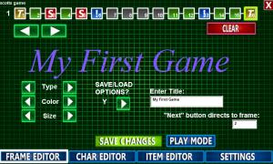 Androidアプリ「8-Bit RPG Creator」のスクリーンショット 5枚目