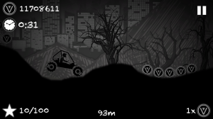 Androidアプリ「Hill Racing To Limbo」のスクリーンショット 1枚目