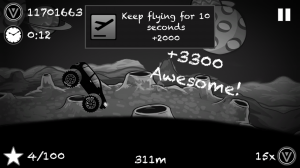 Androidアプリ「Hill Racing To Limbo」のスクリーンショット 2枚目