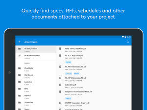 Androidアプリ「PlanGrid – for Construction」のスクリーンショット 4枚目