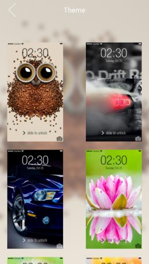 Androidアプリ「Keypad Lock Screen」のスクリーンショット 1枚目