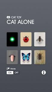 Androidアプリ「キャット・ アロ-ン - 猫のおもちゃ」のスクリーンショット 1枚目