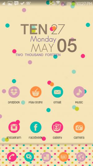 Androidアプリ「Addiction Go Launcher Theme」のスクリーンショット 2枚目
