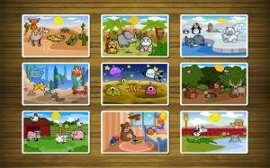 Androidアプリ「幼児のためのパズル」のスクリーンショット 1枚目