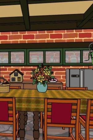 Androidアプリ「脱出ゲーム: 狂気の山小屋」のスクリーンショット 1枚目
