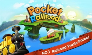 Androidアプリ「ポケットレールロード - Pocket Railroad」のスクリーンショット 1枚目