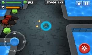 Androidアプリ「タンクバトル3D」のスクリーンショット 4枚目