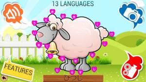 Androidアプリ「点つなぎキッズのための82どうぶつたちパズルゲーム」のスクリーンショット 1枚目