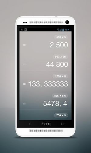 Androidアプリ「Calculator」のスクリーンショット 2枚目