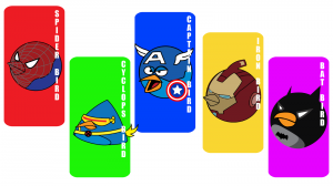 Androidアプリ「Angry Superheros Game」のスクリーンショット 1枚目