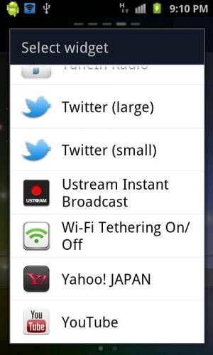 Androidアプリ「Wi-Fi テザリング On/Off」のスクリーンショット 1枚目