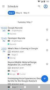 Androidアプリ「Google I/O 2019」のスクリーンショット 2枚目