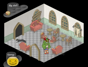 Androidアプリ「お化けの家ゲーム」のスクリーンショット 4枚目