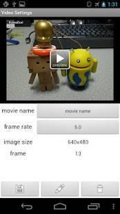 Androidアプリ「コマ撮リ!」のスクリーンショット 3枚目