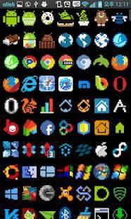 Androidアプリ「8ビット・アイコン・テーマ・FREE」のスクリーンショット 3枚目