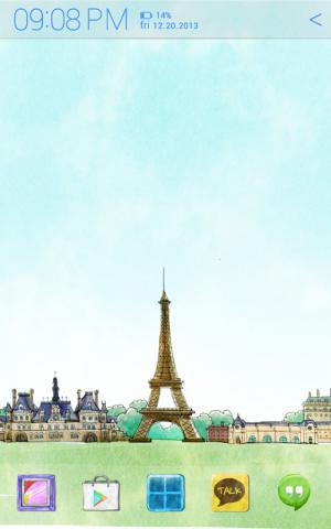 Androidアプリ「世界を旅する アトム テーマ」のスクリーンショット 1枚目