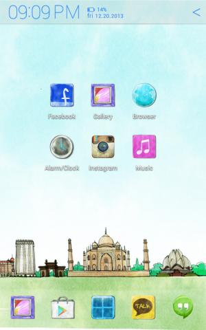 Androidアプリ「世界を旅する アトム テーマ」のスクリーンショット 4枚目