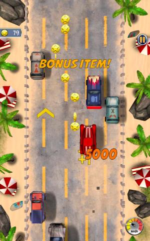 Androidアプリ「Fun Driver : HotRod」のスクリーンショット 4枚目