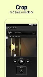 Androidアプリ「Call Ringtone Maker – MP3 & Music Cutter」のスクリーンショット 2枚目