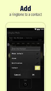 Androidアプリ「Call Ringtone Maker – MP3 & Music Cutter」のスクリーンショット 3枚目
