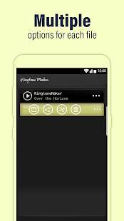 Androidアプリ「Call Ringtone Maker – MP3 & Music Cutter」のスクリーンショット 4枚目