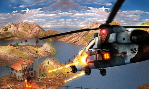 Androidアプリ「Gunship Counter Shooter 3D」のスクリーンショット 2枚目