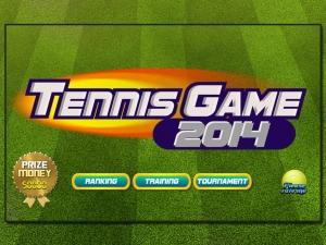 Androidアプリ「Tennis Game」のスクリーンショット 1枚目