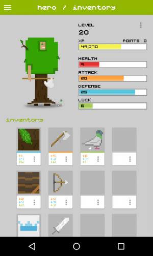 Androidアプリ「Widget RPG」のスクリーンショット 3枚目