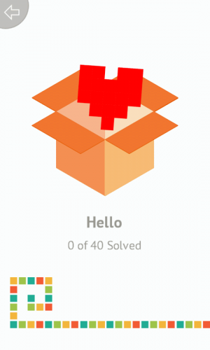 Androidアプリ「Picross Mania - picture sudoku」のスクリーンショット 2枚目