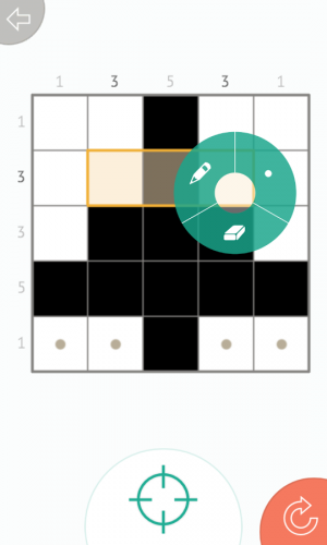 Androidアプリ「Picross Mania - picture sudoku」のスクリーンショット 4枚目