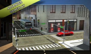 Androidアプリ「バス運転手の3Dシミュレータ」のスクリーンショット 5枚目