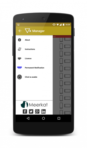 Androidアプリ「Rotation Manager - Control ++」のスクリーンショット 4枚目
