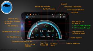 Androidアプリ「Nissan Gauge Pro」のスクリーンショット 1枚目