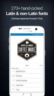 Androidアプリ「InstaLogo Logo Creator」のスクリーンショット 2枚目