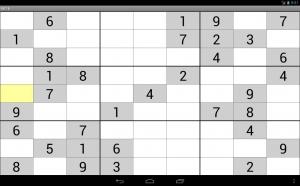 Androidアプリ「スーパー数独」のスクリーンショット 3枚目