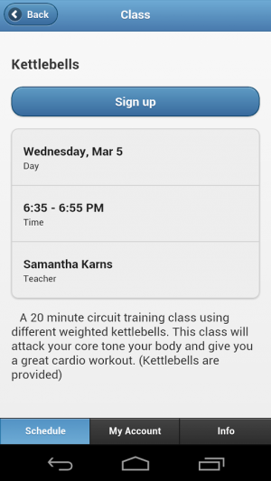 Androidアプリ「Focused Fitness」のスクリーンショット 2枚目