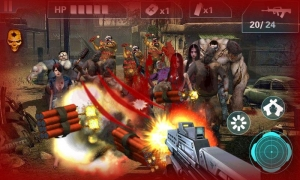 Androidアプリ「Zombie Sniper- City Game3D」のスクリーンショット 4枚目