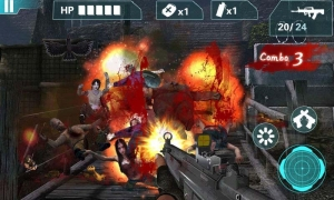 Androidアプリ「Zombie Sniper- City Game3D」のスクリーンショット 3枚目