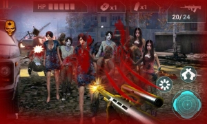 Androidアプリ「Zombie Sniper- City Game3D」のスクリーンショット 2枚目