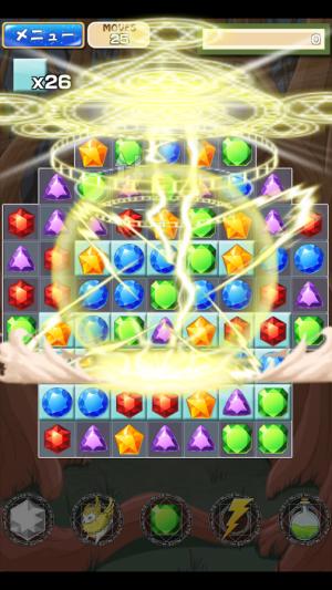 Androidアプリ「マジッククラッシュ」のスクリーンショット 4枚目