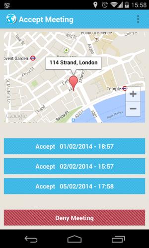 Androidアプリ「SpeakIn」のスクリーンショット 3枚目