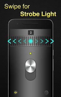 Androidアプリ「懐中電灯 - Flashlight」のスクリーンショット 2枚目