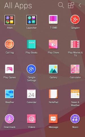 Androidアプリ「キャンディカラー アトム テーマ」のスクリーンショット 5枚目