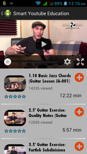 Androidアプリ「Smart YouTube Education」のスクリーンショット 3枚目