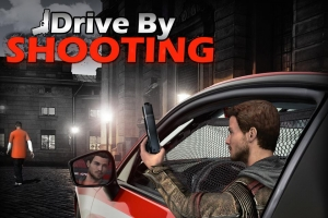 Androidアプリ「Drive By Shooting (3d Game)」のスクリーンショット 1枚目