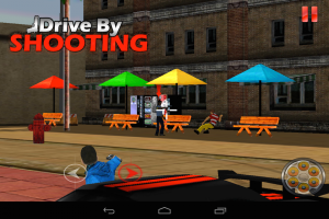 Androidアプリ「Drive By Shooting (3d Game)」のスクリーンショット 5枚目