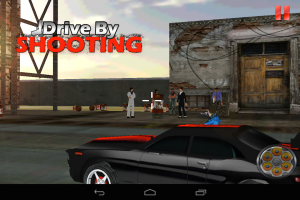 Androidアプリ「Drive By Shooting (3d Game)」のスクリーンショット 4枚目